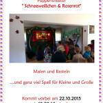Kinderfest am 22.10.2015 in Schierke